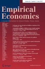 Empirical Economics 4/2014