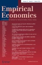 Empirical Economics 1/2014
