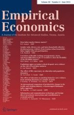 Empirical Economics 4/2015