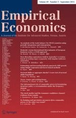 Empirical Economics 2/2015