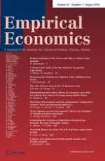 Empirical Economics 1/2016