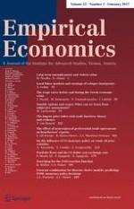 Empirical Economics 1/2017
