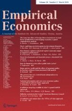 Empirical Economics 2/2018