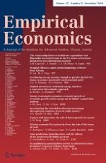 Empirical Economics 3/2018