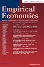 Empirical Economics 4/2019