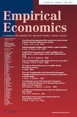 Empirical Economics 5/2021