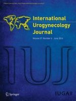 International Urogynecology Journal 6/2016