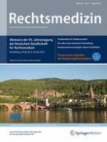 Rechtsmedizin 4/2016