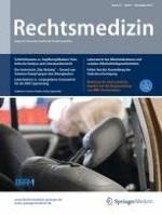 Rechtsmedizin 6/2017