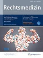 Rechtsmedizin 1/2018
