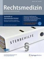 Rechtsmedizin 2/2018