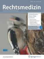 Rechtsmedizin 6/2018