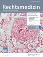Rechtsmedizin 3/2019