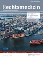 Rechtsmedizin 4/2019