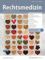 Rechtsmedizin 1/2020