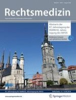 Rechtsmedizin 4/1999