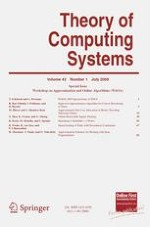 Theory of Computing Systems 1/2008