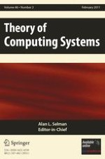 Theory of Computing Systems 2/2011