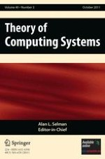 Theory of Computing Systems 3/2011