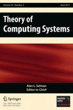 Theory of Computing Systems 3/2012