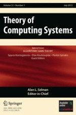 Theory of Computing Systems 1/2013
