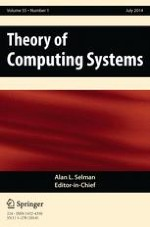 Theory of Computing Systems 1/2014