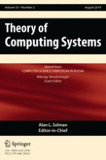 Theory of Computing Systems 2/2014