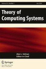 Theory of Computing Systems 1/2016
