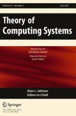 Theory of Computing Systems 1/2017