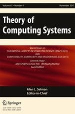 Theory of Computing Systems 4/2017