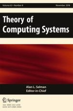 Theory of Computing Systems 8/2018
