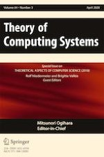 Theory of Computing Systems 3/2020