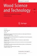 Wood Science and Technology 3/2014