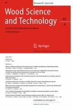 Wood Science and Technology 6/2015