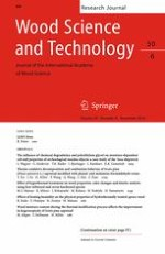 Wood Science and Technology 6/2016