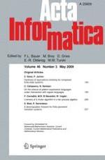 Acta Informatica 3/2009