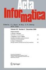Acta Informatica 8/2009
