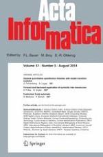 Acta Informatica 5/2014
