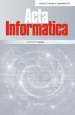 Acta Informatica 6/2015