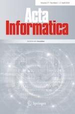 Acta Informatica 1-2/2020