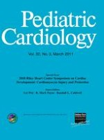 Pediatric Cardiology 3/2011