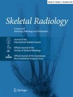 Skeletal Radiology 11/2018