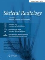Skeletal Radiology 7/2018