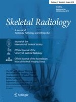 Skeletal Radiology 8/2018