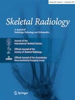 Skeletal Radiology 11/2019