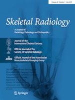 Skeletal Radiology 7/2019