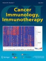 Cancer Immunology, Immunotherapy 7/2015