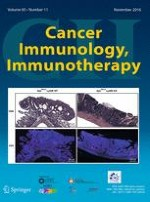 Cancer Immunology, Immunotherapy 11/2016