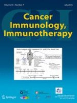 Cancer Immunology, Immunotherapy 7/2016