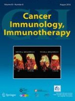 Cancer Immunology, Immunotherapy 8/2016